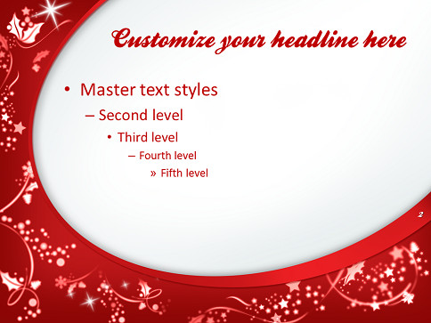 Free Christmas Powerpoint Templates Merry Christmas – Template for Powerpoint and Impress