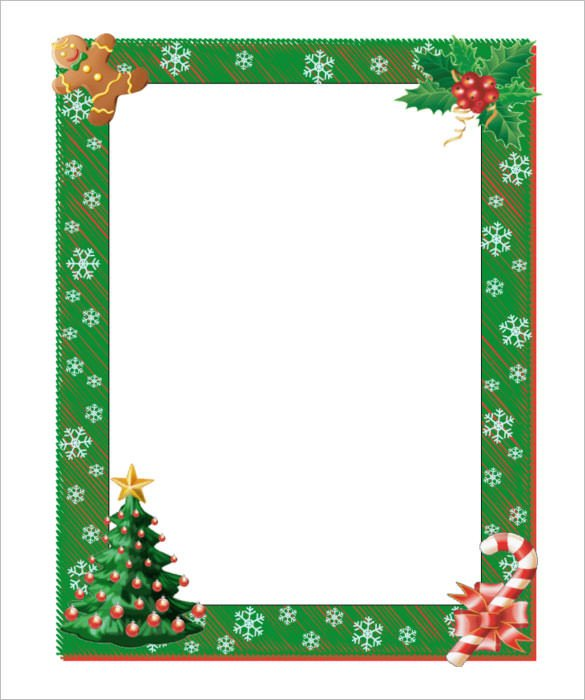 Free Christmas Templates for Word 17 Christmas Paper Templates Doc Psd Apple Pages