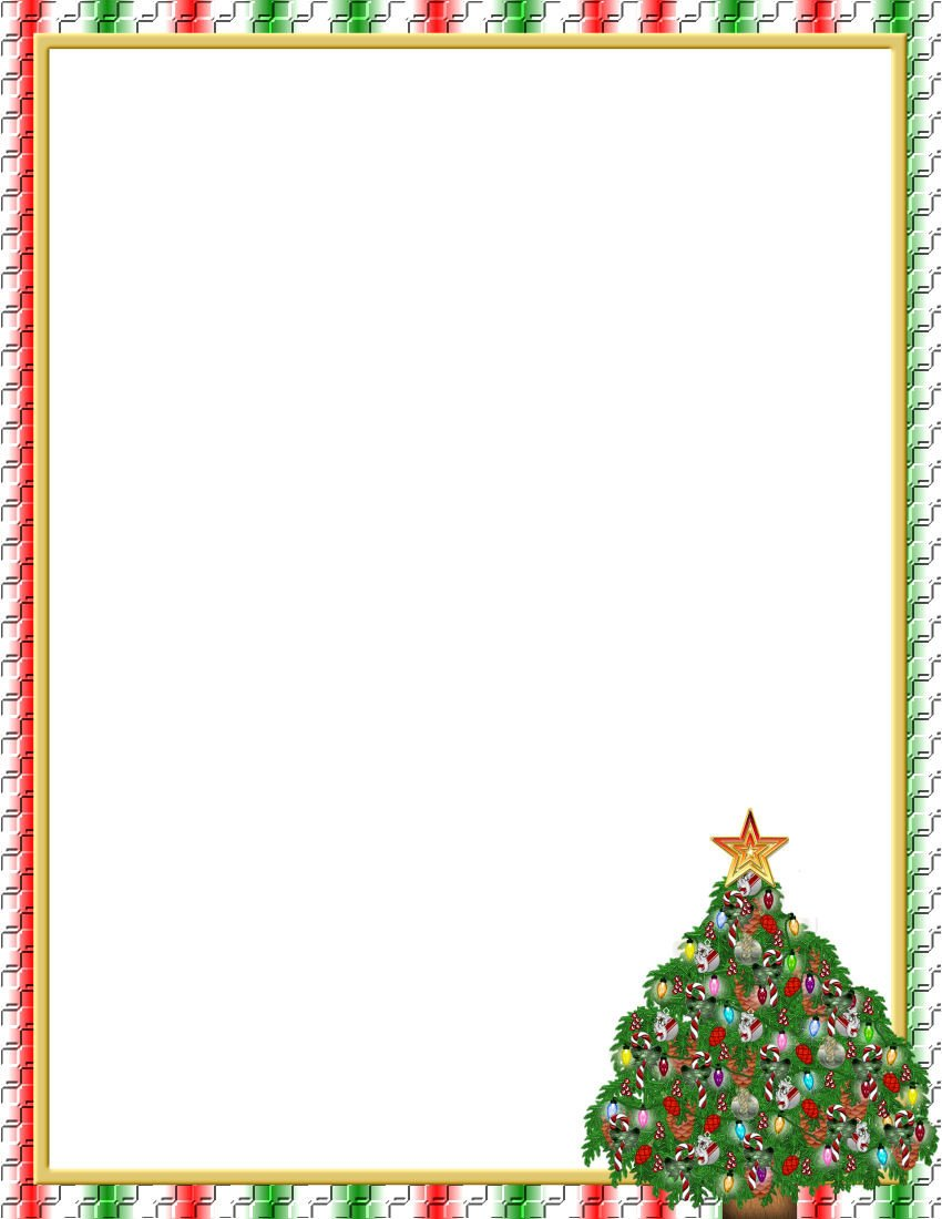 Free Christmas Templates for Word Christmas 1 Free Stationery Template Downloads