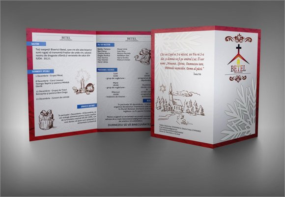 Free Church Bulletin Templates 9 Church Bulletin Templates Download Documents In Psd Pdf