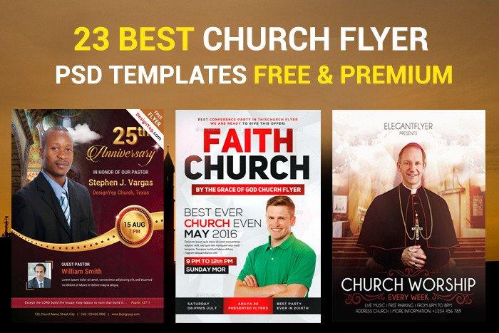 Free Church Flyer Templates 23 Church Flyer Psd Templates Free & Premium Designyep