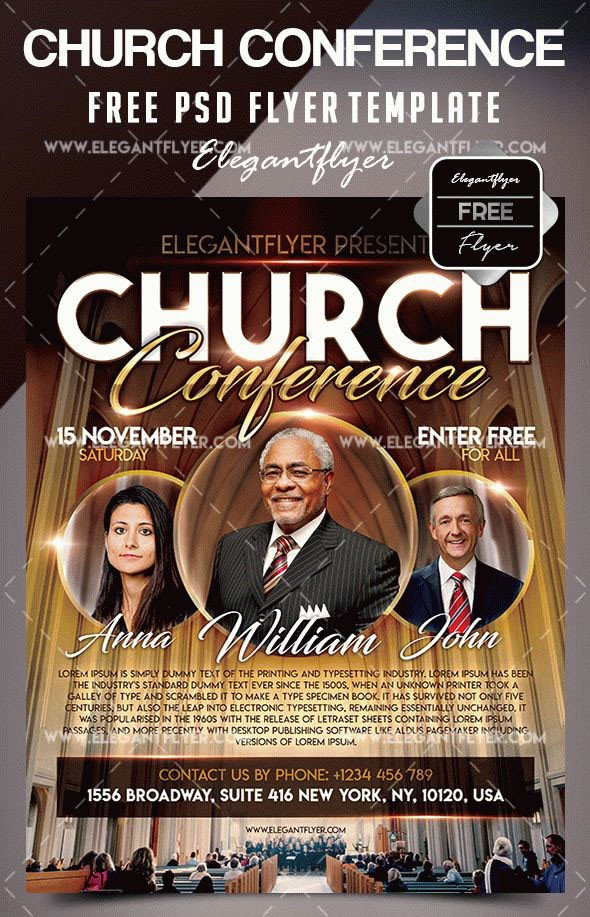 Free Church Flyer Templates Photoshop 34 Free Psd Church Flyer Templates In Psd for Special