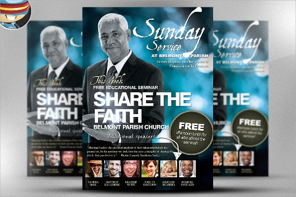 Free Church Flyer Templates Photoshop 35 Church Flyer Templates Word Psd Eps Vector Ai