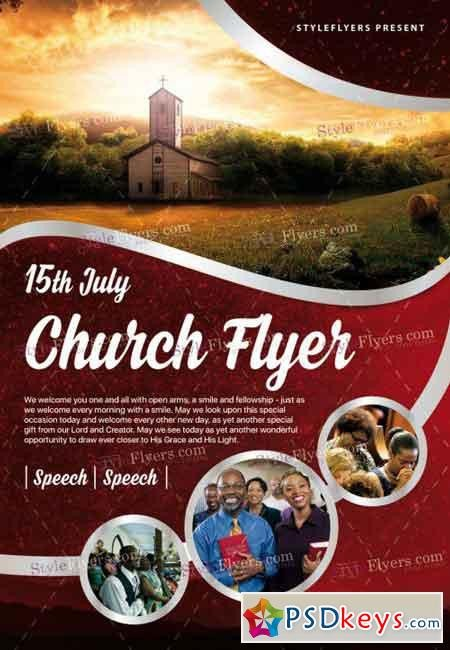 Free Church Flyer Templates Photoshop Church Psd Flyer Template Free Download Shop Vector