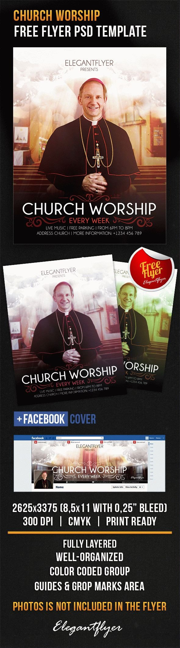 Free Church Flyer Templates Photoshop Free Shop Flyer Template Church Worship