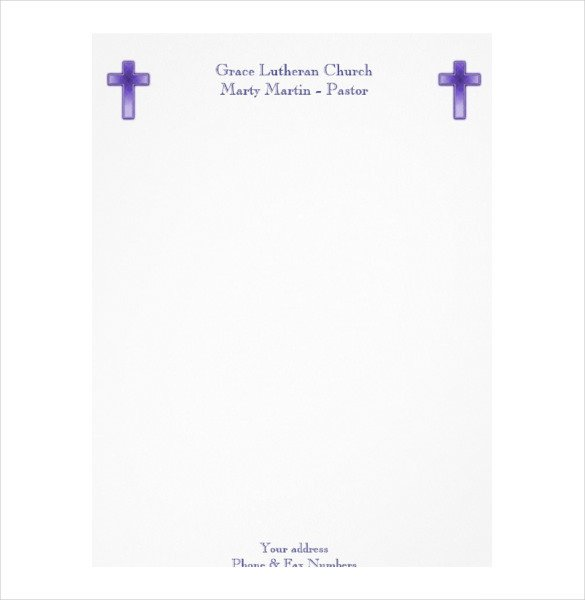 Free Church Letterhead Templates 14 Church Letterhead Templates Free Psd Eps Ai