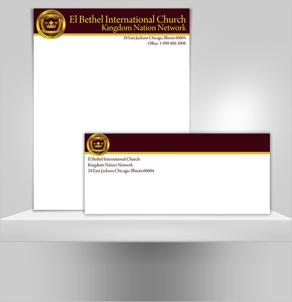 Free Church Letterhead Templates Sample Church Letterhead