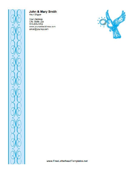 Free Church Letterhead Templates Wedding Letterhead Ring