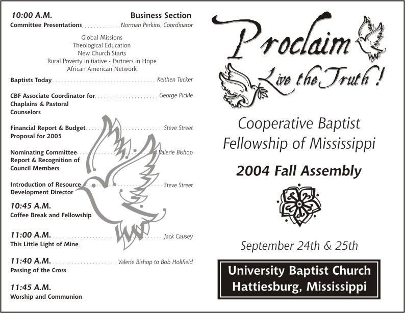 Free Church Programs Template Free Printable Church Program Template