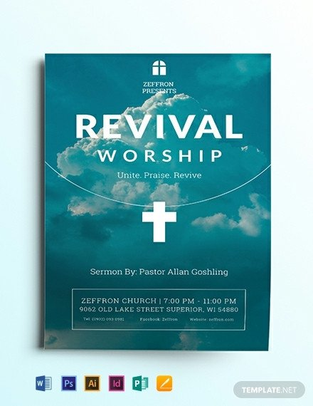 Free Church Revival Flyer Template 17 Free Church Flyer Templates [download Ready Made