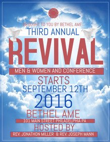 Free Church Revival Flyer Template 170 Customizable Design Templates for Revival Flyer