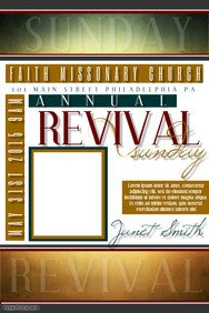 Free Church Revival Flyer Template 24 Of Church Revival Program Template