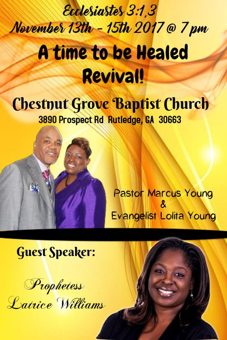 Free Church Revival Flyer Template Church Revival Flyer Template