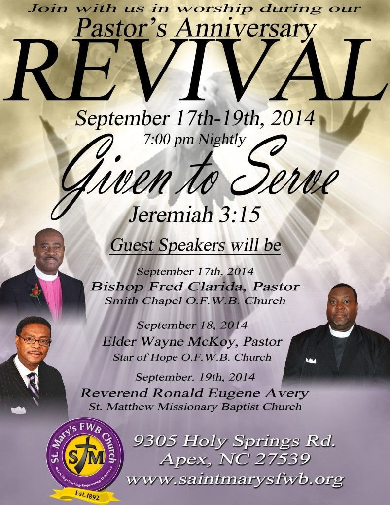 Free Church Revival Flyer Template Church Revival Flyers Revival Flyer