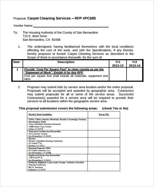 Free Cleaning Proposal Template Employee Wellness Program Proposal Sample Templates