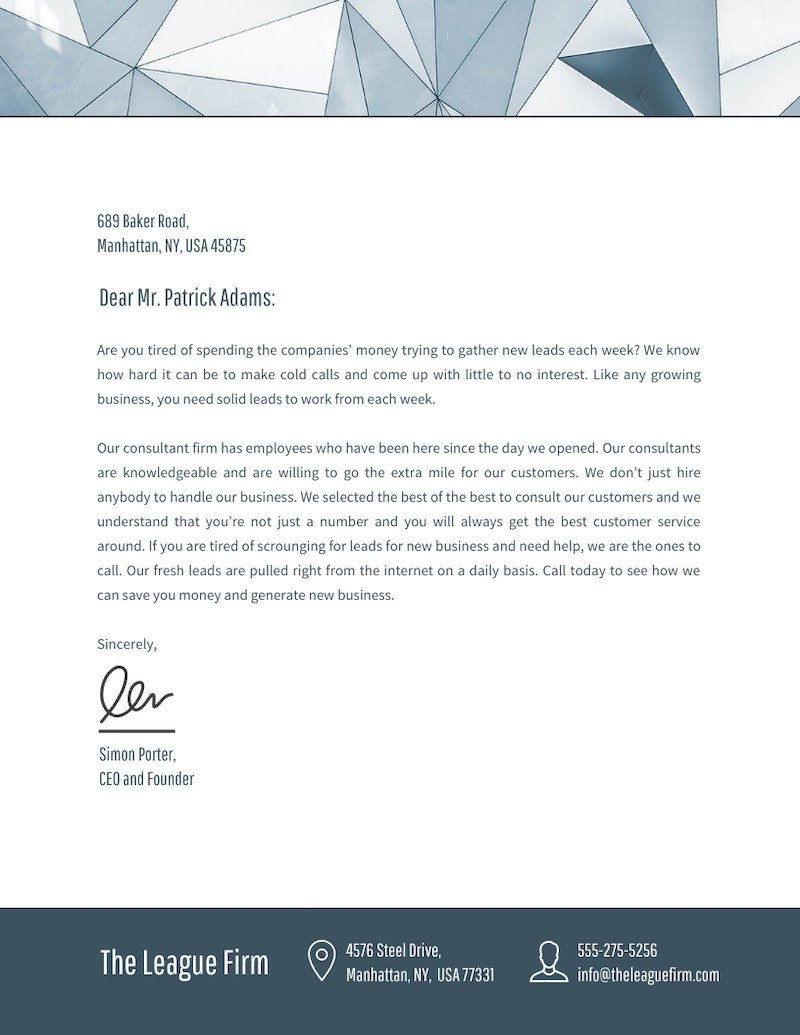 Free Company Letterhead Template 20 Professional Business Letterhead Templates and