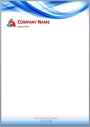Free Company Letterhead Template 33 Free Letterhead Templates In Word Excel Pdf