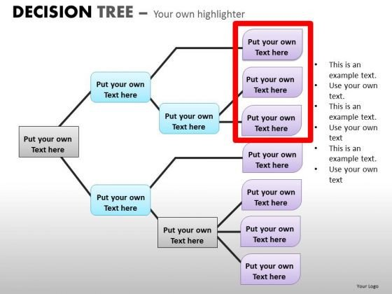Free Decision Tree Template Powerpoint Decision Tree Template
