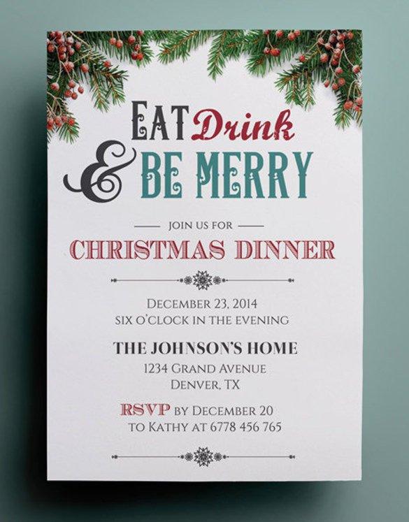 Free Dinner Invitation Templates 49 Dinner Invitation Templates Psd Ai Word