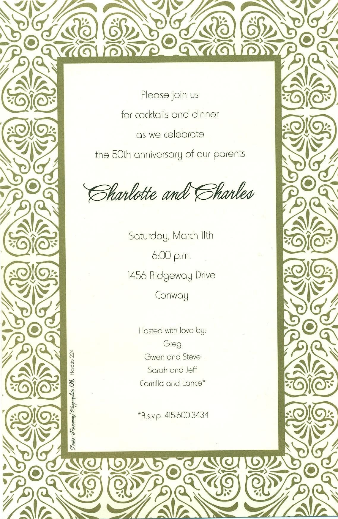 Free Dinner Invitation Templates Downloadable Dinner Invitations Templates