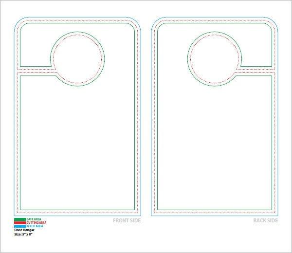 Free Door Hangers Templates 15 Door Hangers Psd Vector Eps Pdf