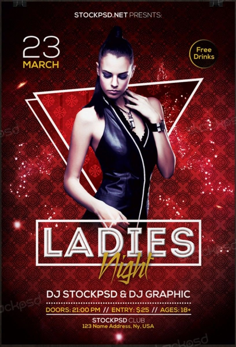 Free Download Flyers Template La S Night 2017 – Download Free Psd Flyer Template
