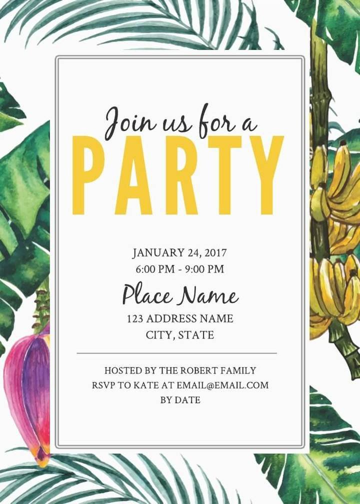 Free Download Invite Templates 16 Free Invitation Card Templates & Examples Lucidpress