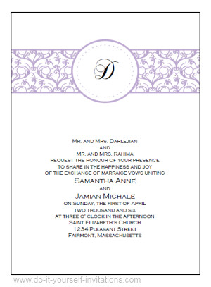 Free Download Invite Templates Free Printable Wedding Invitations Templates