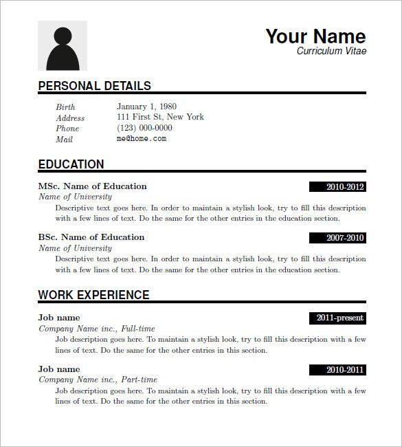 Free Download Resume Templates 15 Latex Resume Templates Pdf Doc