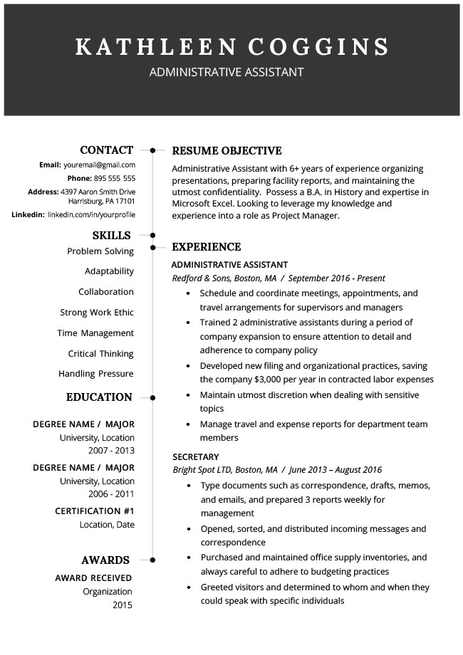 Free Download Resume Templates 40 Modern Resume Templates Free to Download