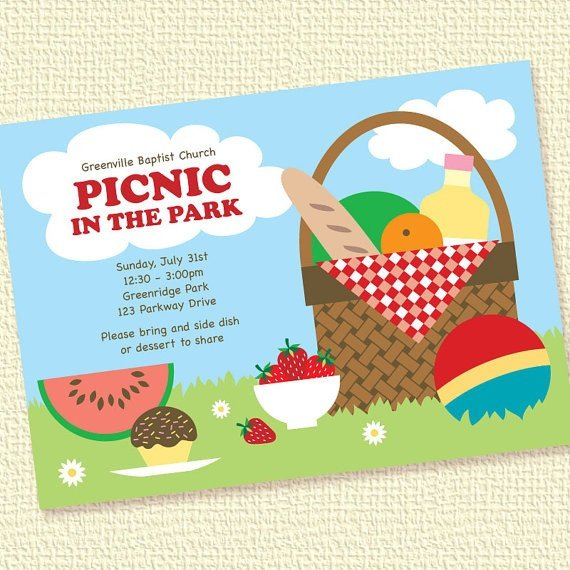 Free Downloadable Picnic Invitation Template 67 Best Picnic Cards Images On Pinterest