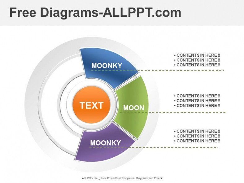 Free Downloads Powerpoint Templates 3 Analysis Diagrams Powerpoint Template Download Free