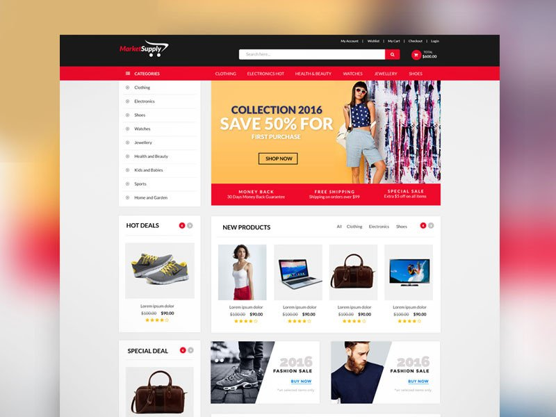Free Ecommerce Websites Templates 30 Newest Free Website Templates for 2017graphic Google