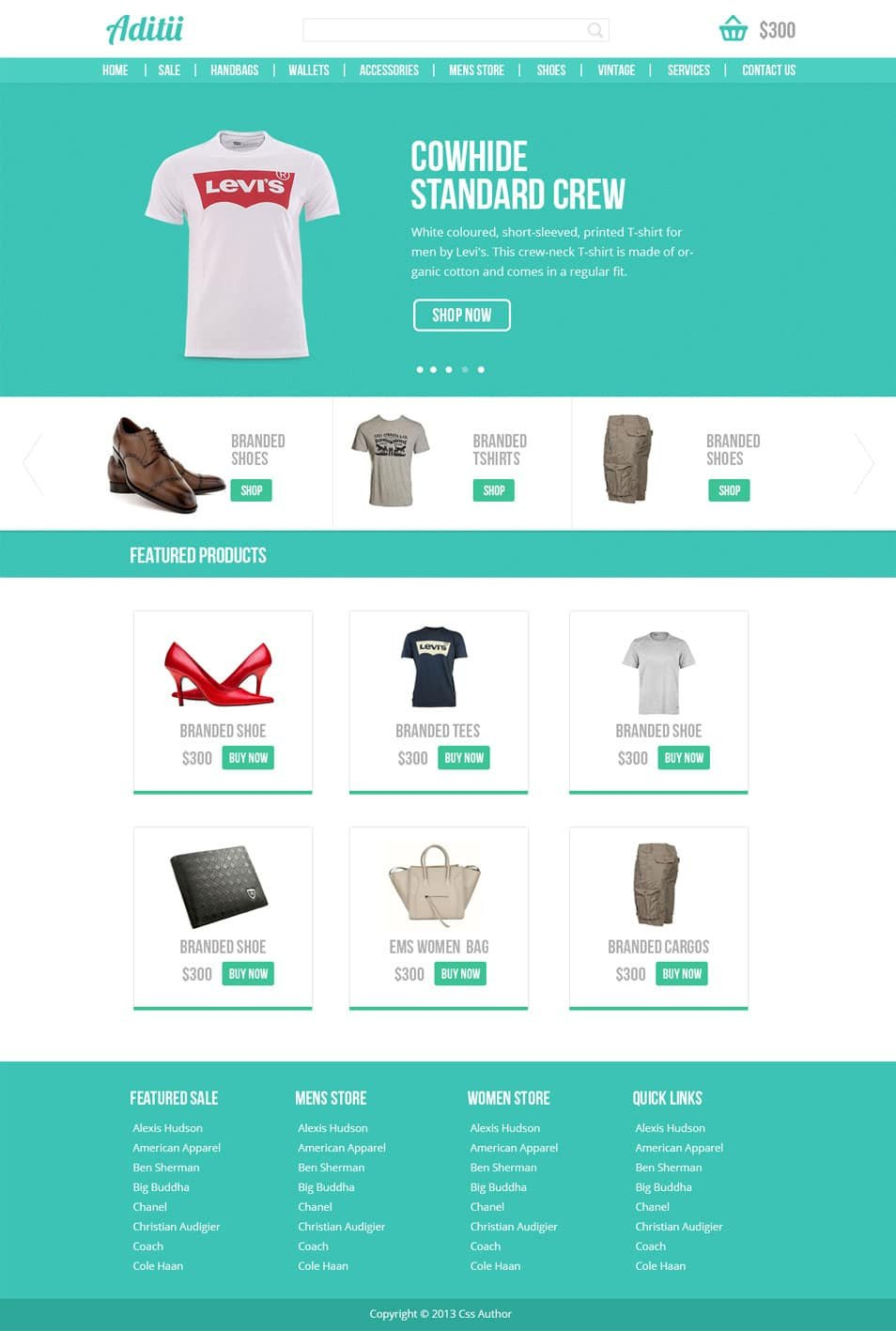 Free Ecommerce Websites Templates Latest Free Web Page Templates Psd Css Author