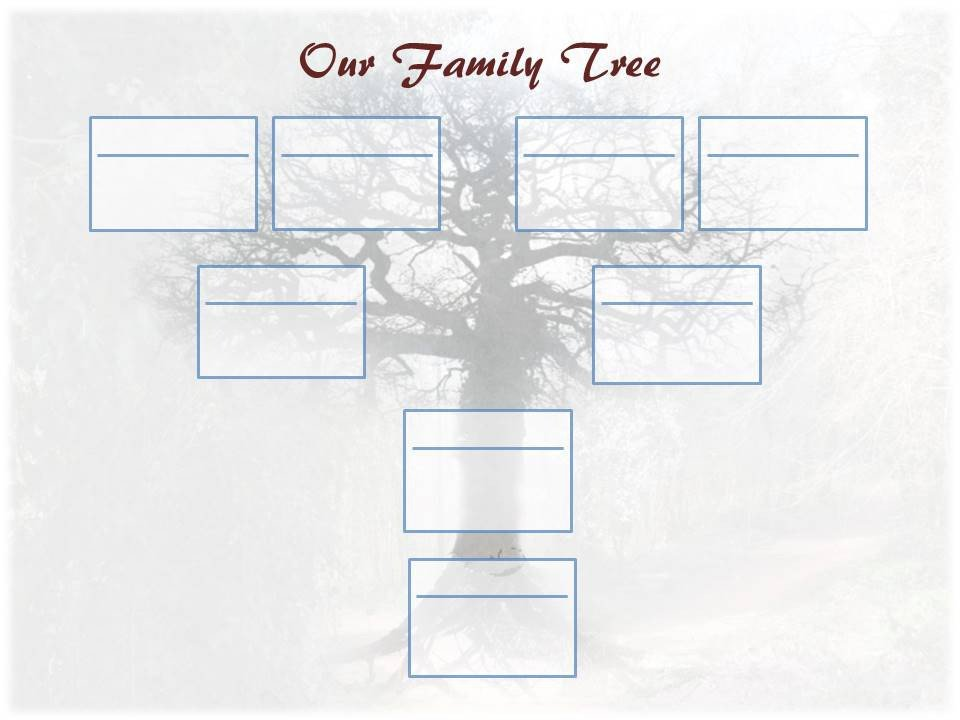 Free Editable Family Tree Template Editable Family Tree Template – Ancestry Talks with Paul