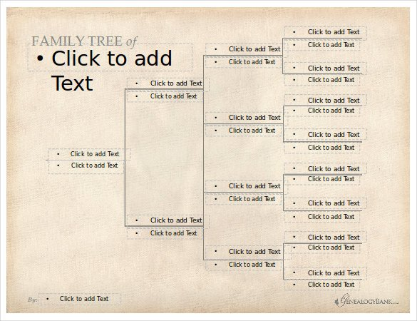 Free Editable Family Tree Templates 8 Powerpoint Family Tree Templates Pdf Doc Ppt Xls