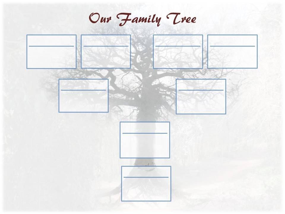 Free Editable Family Tree Templates Editable Family Tree Template – Ancestry Talks with Paul