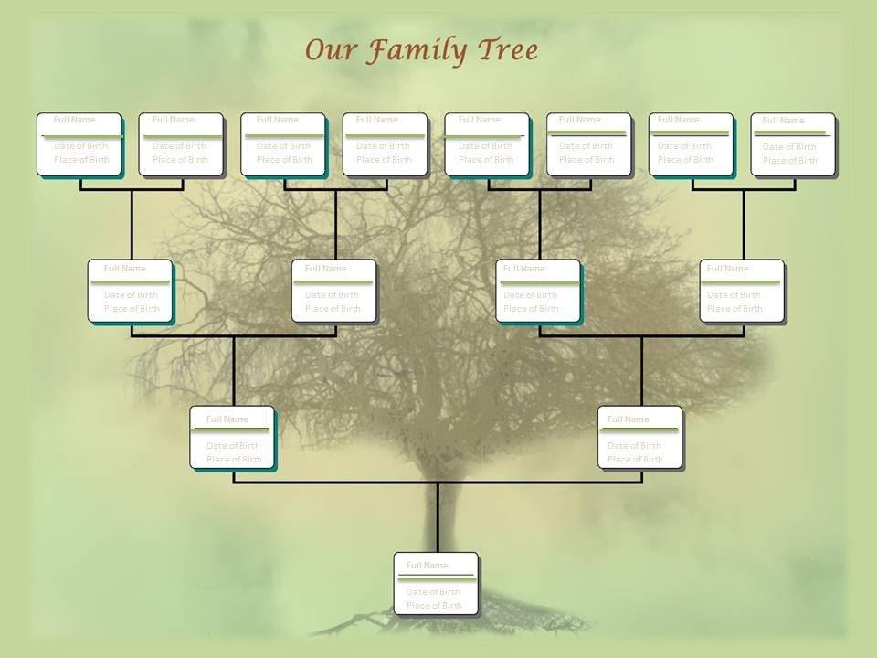 Free Editable Family Tree Templates Family Tree Chart Template Example