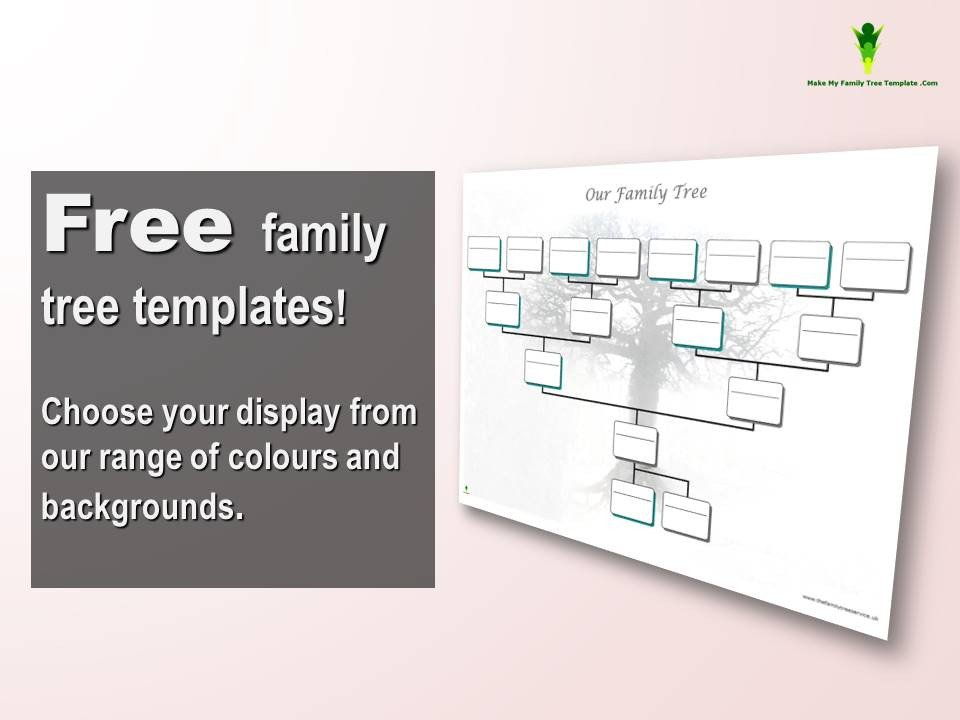 Free Editable Family Tree Templates Free Editable Family Tree Template Word