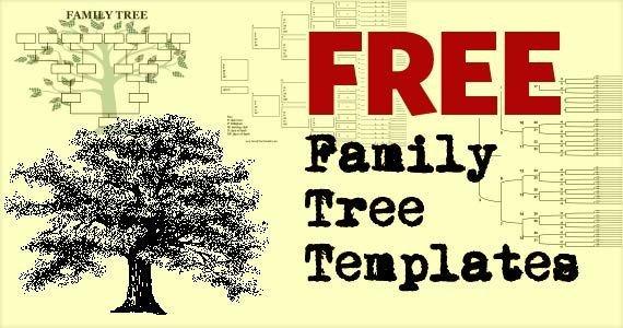Free Editable Family Tree Templates Free Family Tree Template Printables 247moms