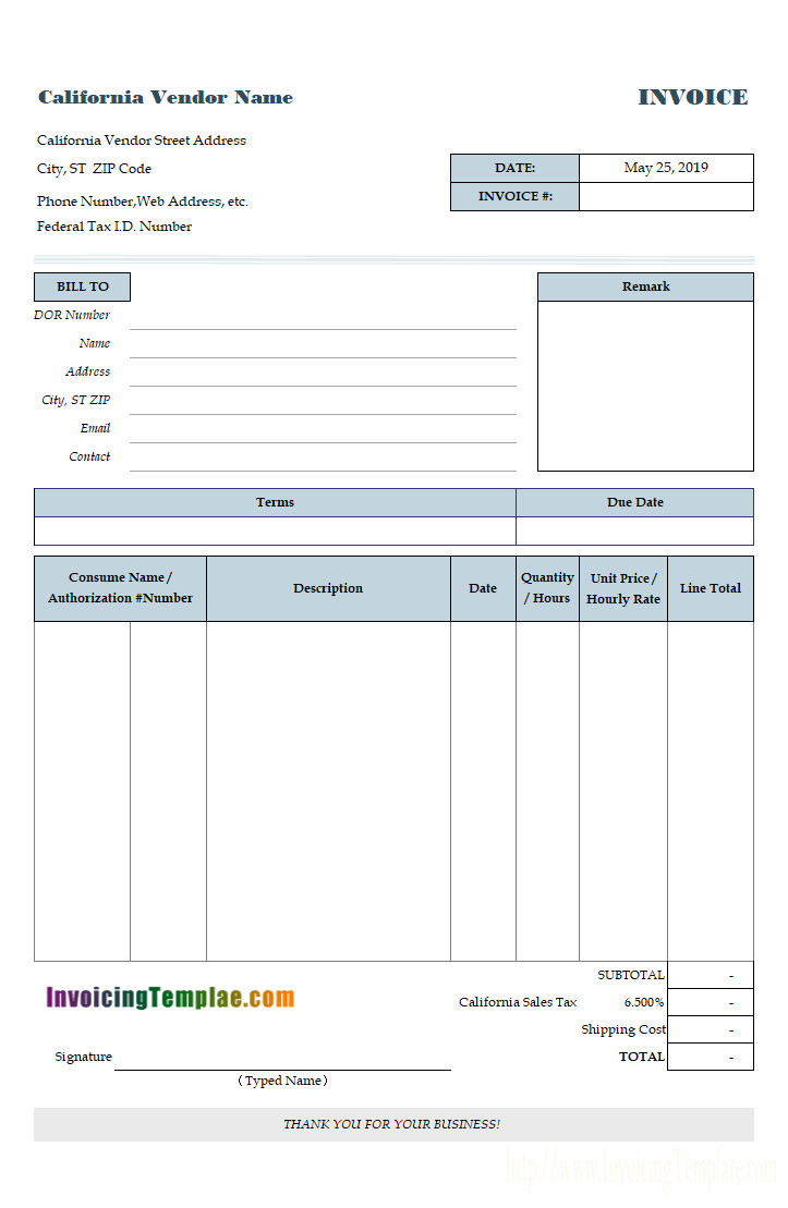 Free Editable Invoice Template All Of Our Invoice Templates are Editable
