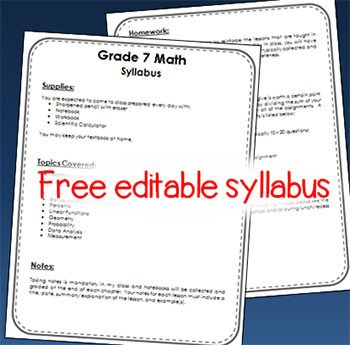Free Editable Syllabus Template Meet the Teacher 6 Ideas for Hosting A Successful Back to