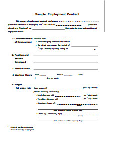 Free Employment Contract Template Kwl Chart Template Free Download Create Edit Fill and