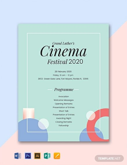 Free event Program Template 31 Free Program Templates [download Ready Made Samples