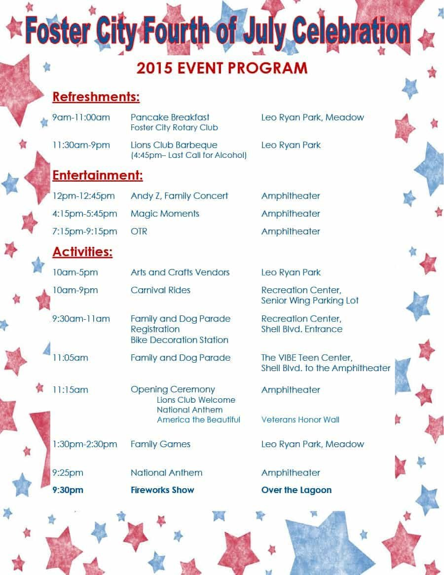 Free event Program Templates 40 Free event Program Templates Designs Template Archive