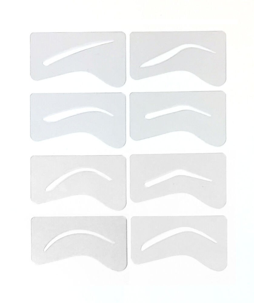 Free Eyebrow Stencils Printouts 24 Microblading Eyebrow Stencil Template Permanent Makeup