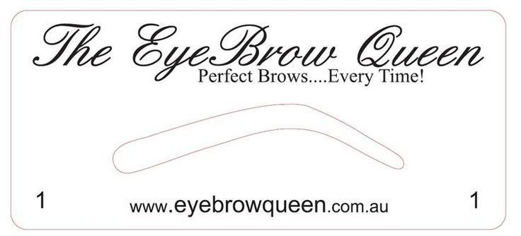 Free Eyebrow Stencils Printouts Eyebrow Templates Printable Invitation Templates