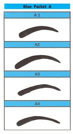 Free Eyebrow Stencils Printouts Free Printable Eyebrow Stencils for You to Print Right now