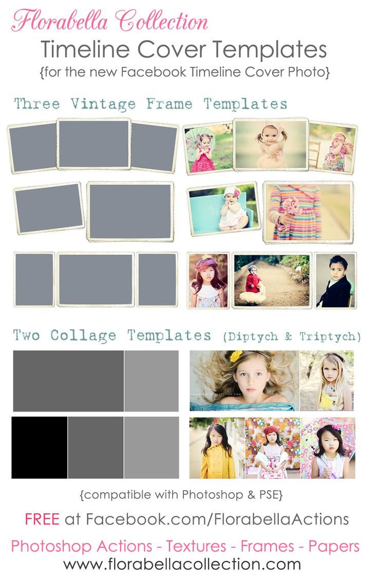 Free Facebook Covers Templates Free Timeline Cover Templates Vintage Frames