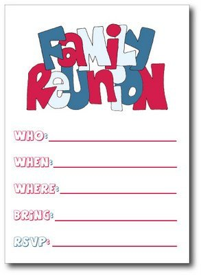 Free Family Reunion Templates Invitation Templates Graphics and Templates